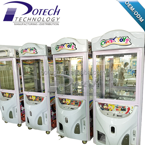 Hot sale arcade game toys vending game crane claw machine