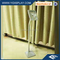 YIDISPLAY tablet anti-theft floor display stand