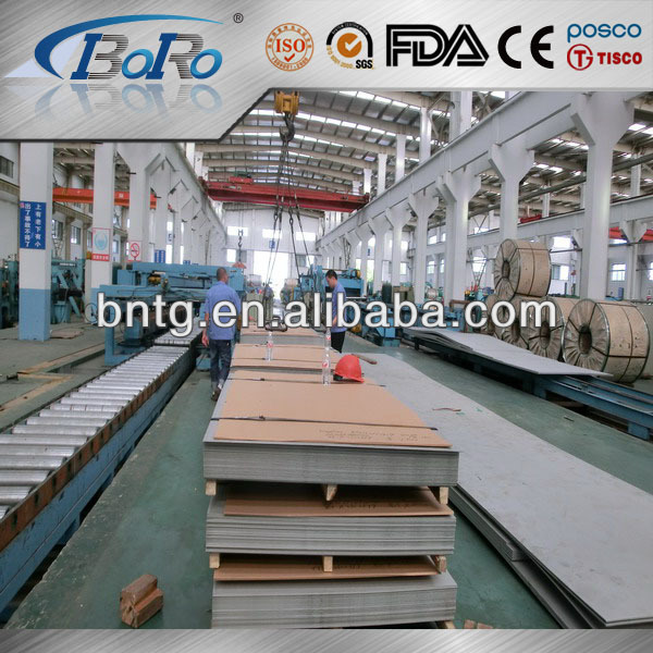 Cold rolled acero inoxidable metal sheet 304 BA entrepreneur China