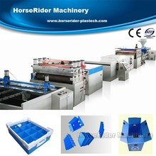Hot sale PP hollow profile sheet extrusion line