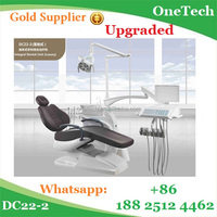 Fashionable model luxurious interlock function of dental chair spittoon with oil-free air compressor, American tubes&pipes DC22