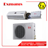 Explosion-proof split type wall hung Air Conditioner for Zone 1 and zone 2