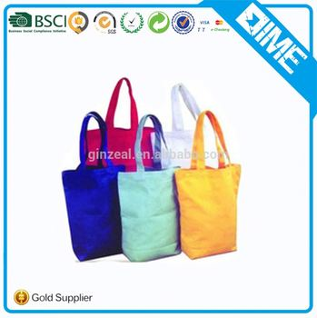 Cotton Luggage Shopping 100% Recyled Custom Tote Bags