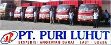 Trucking Inland PT. PURI LUHUT Forwarder service
