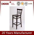 DG-W0020B1 WOODEN LADDER BACK CHEAP CHAIR WITH EXTENDED EDGES
