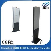 UHF RFID electric gate, access control card reader for EAS RFID library