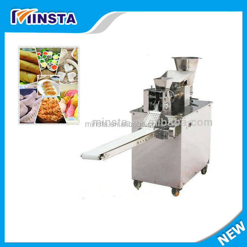 Widely used pot sticker dumpling wrapping machine / small dumpling machine maker