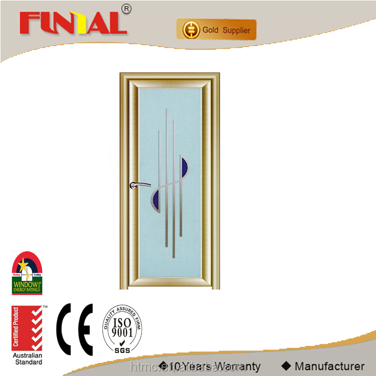 Best selling aluminum casement door for house projects