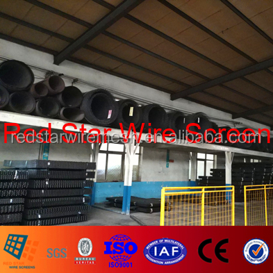 #467 Spring Steel Wire 65Mn High Carbon Mine Sieving Mesh for Vibrating Screen Equipment