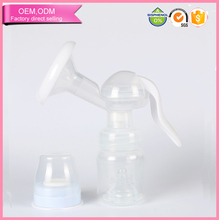 baby supplier breastpump manual with feeding bottle bpa free