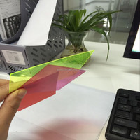 PVC Color Translucent Film for Crafts Packing