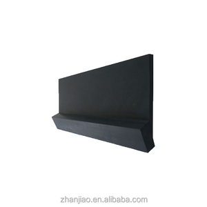 Conveyor belt poly urethane abrasion resistant skirt board rubber