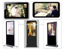 55 inch Floor Stand Waterproof Kiosk HD Media Player Exhibition touch screen display
