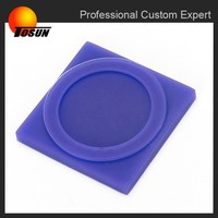 custom abrasion resistant silicone rubber feet, silicone rubber block, silicone rubber gasket