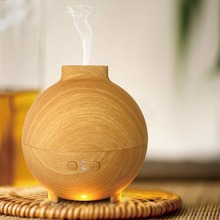 SOICARE wholesale wood grain cool mist ultrasonic essential oil diffuser nebulizer for whole house