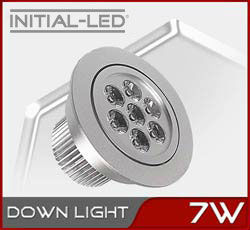 LED 7W DIMMABLE DOWN LIGHT EQUIVALENT 50W