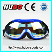 Anti-UV PC lens adult snow sports logo bike safety motorcycle goggles