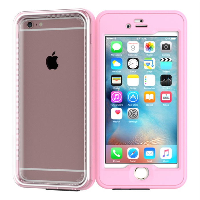2016 new style plastic + tpu waterproof cell phone case for iPhone 6 6Plus