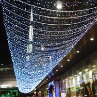 Fashion Color Changing Led Net Light Outdoor/Indoor Christmas solar led lights string