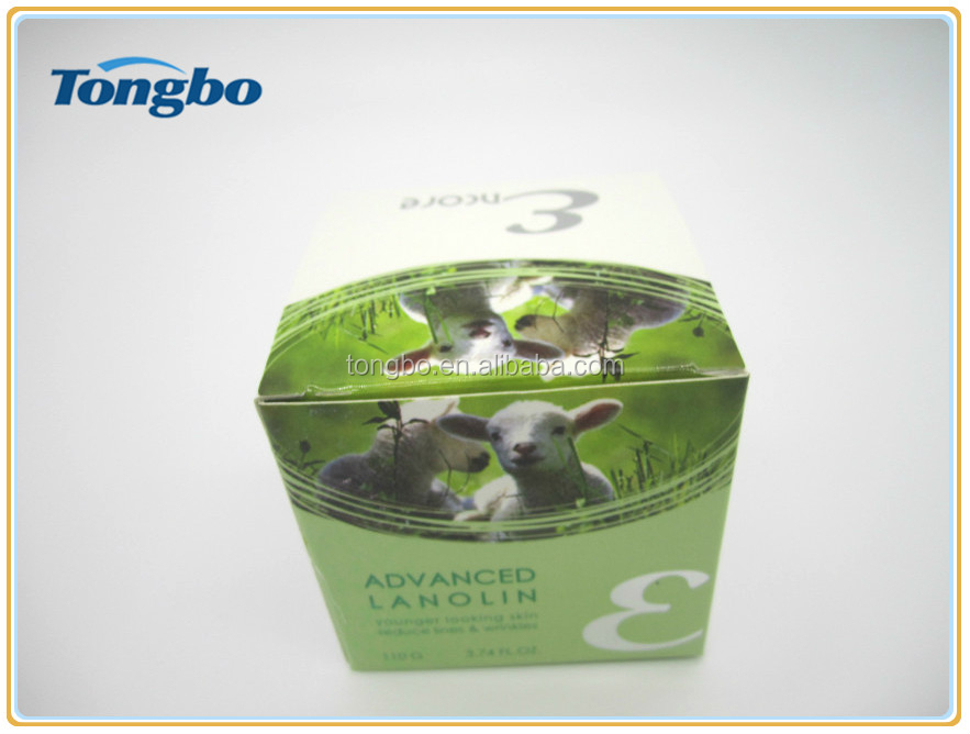 skin cream 300 gsm paper box packaging