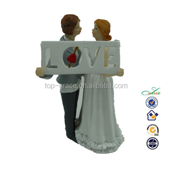 HOT resin same sex wedding figurine gift