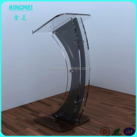 China factory cheap color acrylic podium,acrylic rostrum,acrylic lectern