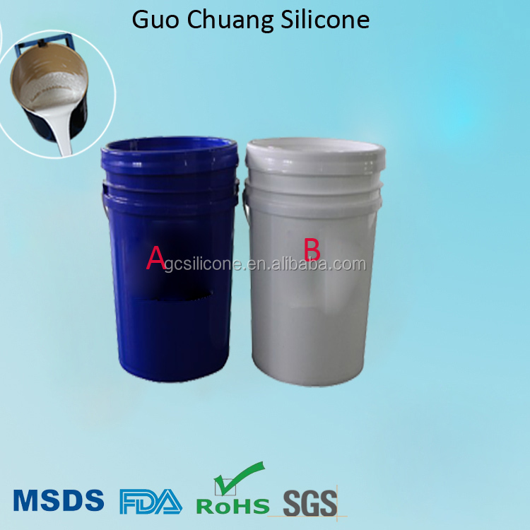 G830 two components liquid silicone rubber for mold making