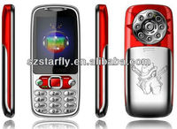 Hot Selling New Arrive Metal Cover 2.4 inch Q007 Cheap China Phone