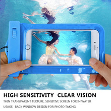 2017 New coming Phone Case 100% Sealed Waterproof Durable WaterProof Pouch Underwater waterproof case for iphone 7