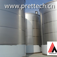 SS 304 Storage Tank With Service