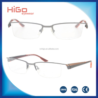 Hot sale metal stainless steel optical frame unique design