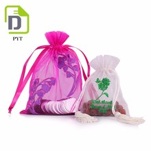Customized fashion style jewelry pouch organza bag