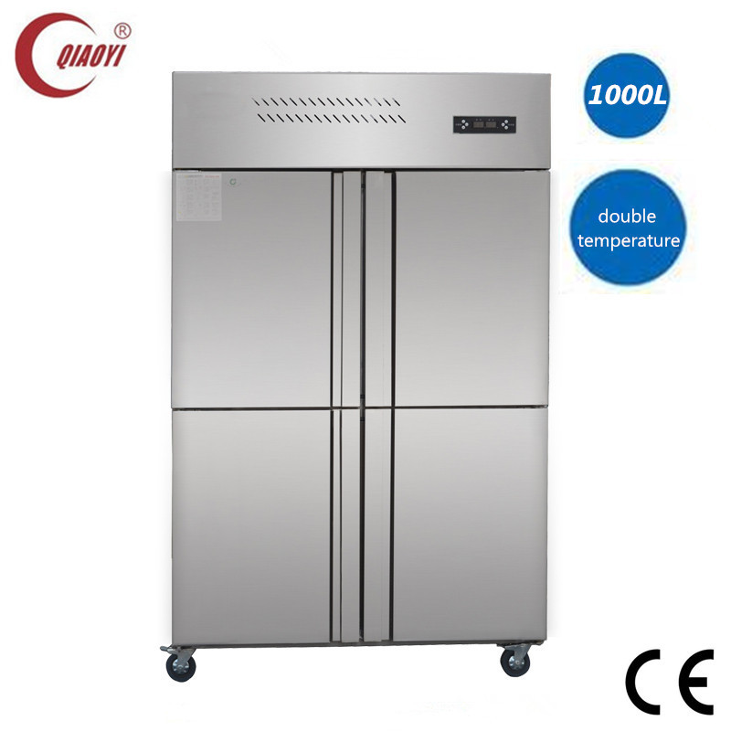 stainless steel restaurant commercial refrigerator