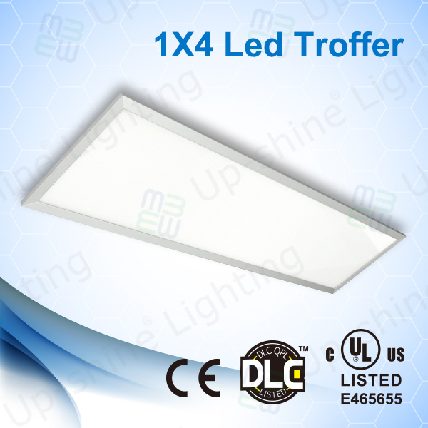 UL DLC approved grid troffer panel 5 years warranty led 300x1200 ceiling panel light