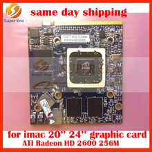 Genuine 661-4663 661-4426 for iMac 24'' A1225 ATI Radeon HD2600 HD 2600 256M VGA GPU Graphic Video Card Mid 2007 Early 2008year
