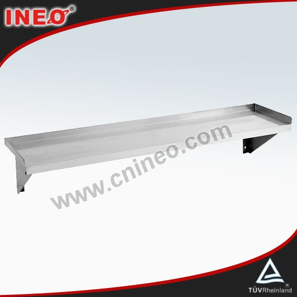 Restaurant Commercial Kitchen Solid Stainless Steel Plate Wall Shelf/Bar Wall Shelf/Floating Wall Shelf