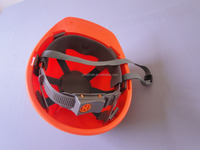 CE EN397:2012 orange v guard plastic doll hats construction industrialwith visor