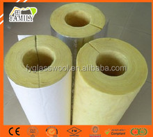 Good weather resistance Moisture and radiation protection Industrial heating Glass wool pipe