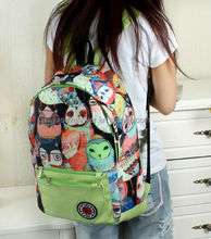 popular student backpack bag canvas backpack stock Bistar
