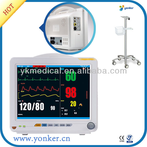 CE Approved 12 inch operation room patient monitor