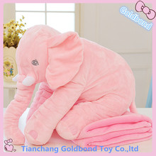 Good Quality Children Bedding Room Decoration Pillow 40cm Plush Elephant Toy Wholesale
