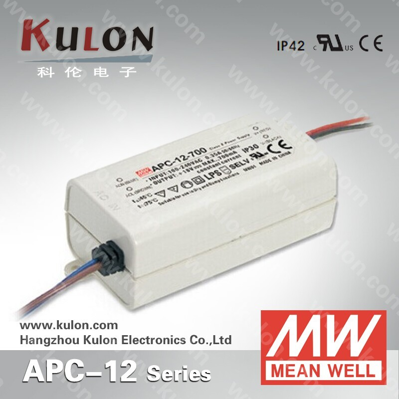 12w 350mA Ul approved constant current switching led power supply