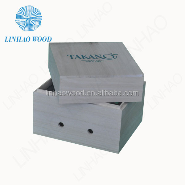 Factory Price Decorative Wooden Crate, Wooden Crate Box, Wooden Fruit Storage Crate