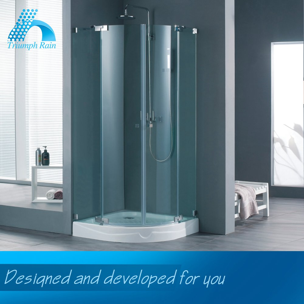 Samples Are Available Good Price Custom Made Bifold Shower Enclosures
