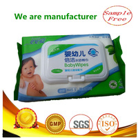80pcs/bag oem cheap baby skin care manufacturer wet wipes wholesale