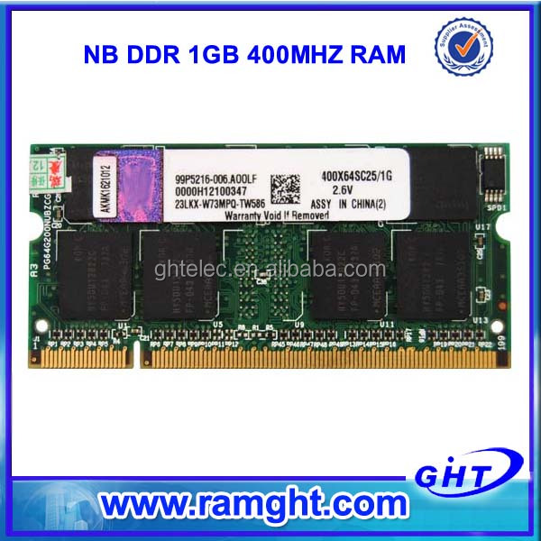 factory price 1gb ram external ram for laptops