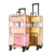 Aluminum Frame Acrylic Transparent Panel 2 in 1 Makeup Artist Hair Salon Station Tool Case