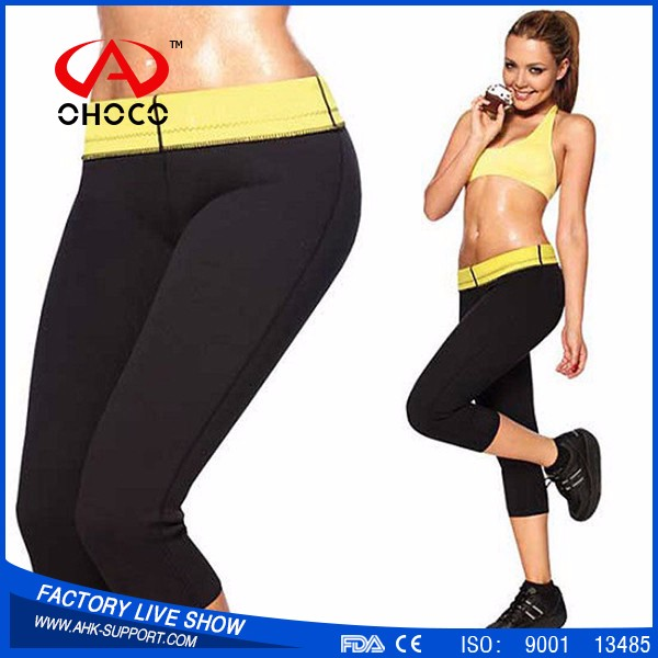 OHOCO Shaper Best Selling Neoprene Body Shaper Slimming Pants Burning Fat Unisex Sport Pants,slimming belt with high quality
