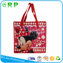 BSCI ISO Laminated reusable shopping small zipper nylon bags