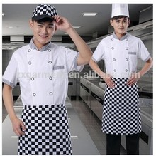 custom made logo embroidered fast food kfc uniform for Mcdonald's